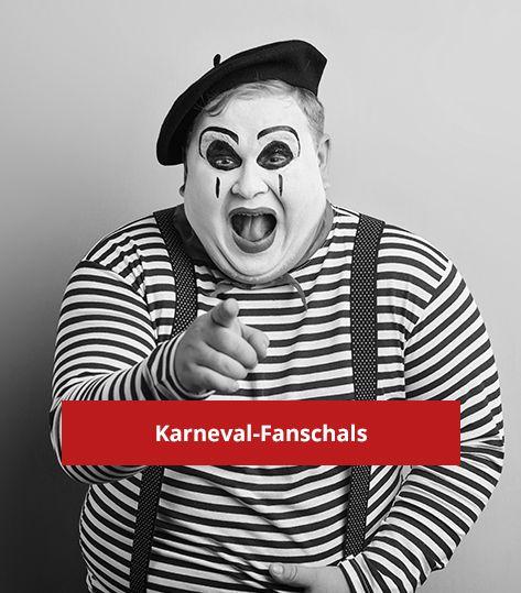 Karneval-Fanschal (200x17cm)
